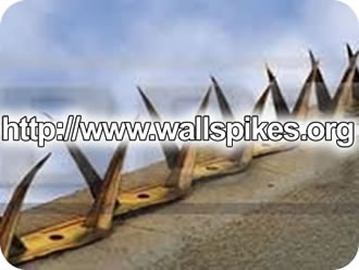 Barbed Wire Razor Spikes